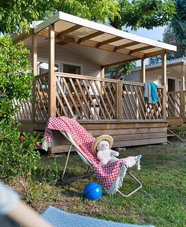 Camping Giens MOBILHEIM Loggia