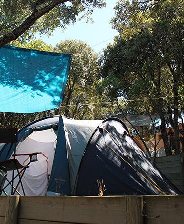 Camping Giens Camping-Stellplätze: Zelte